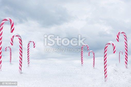 istock Christmas candy 878095440