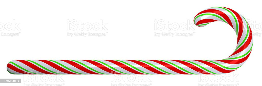 Christmas Candy Stick royalty-free stock photo