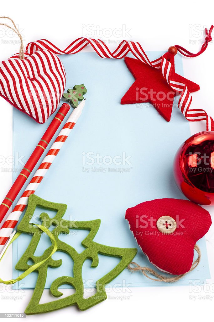 christmas card and decoration insert text stock photo more