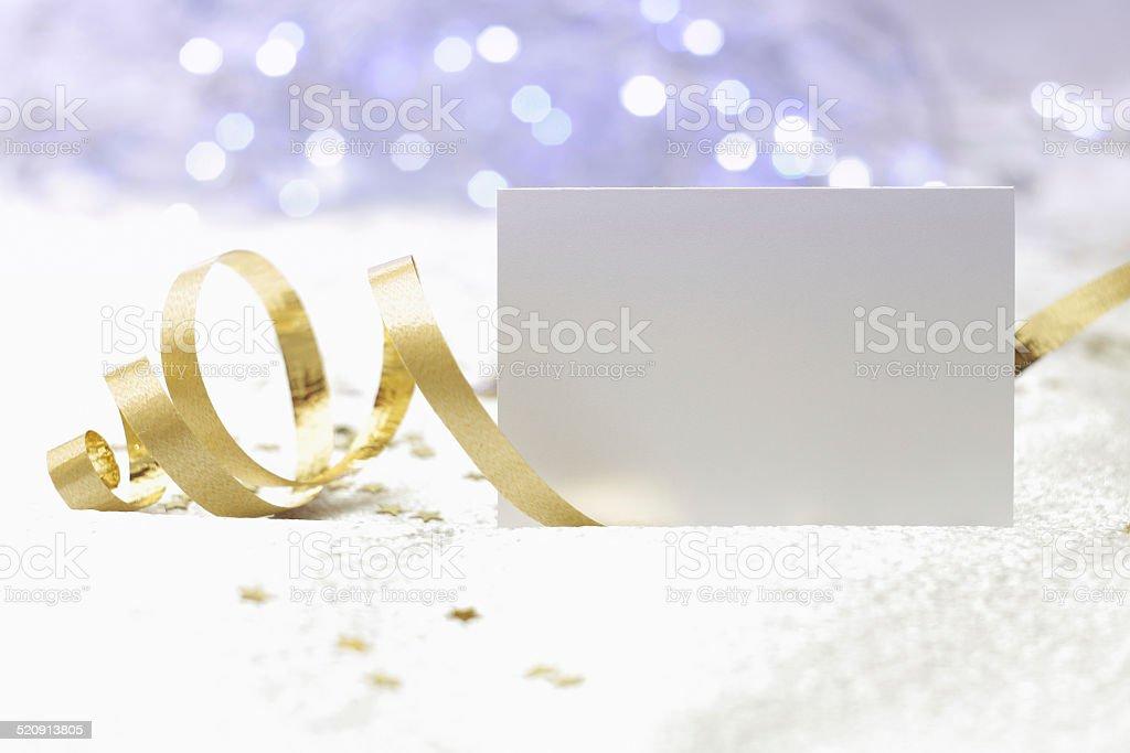 Christmas card background stock photo