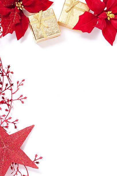 christmas card - weihnachtssterne aus papier stock-fotos und bilder