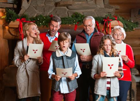 Christmas Carols Stock Photo - Download Image Now