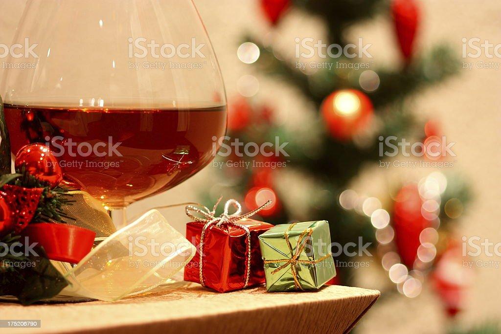Christmas celebrating royalty-free stock photo