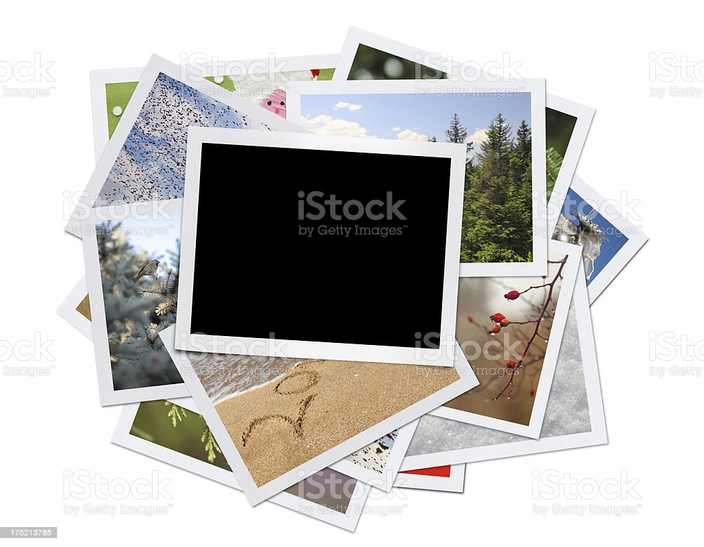 Christmas Celebration Photos (Clipping Path) royalty-free stock photo