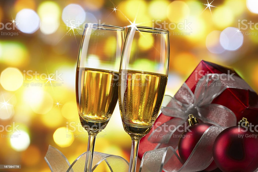 christmas celebration royalty-free stock photo
