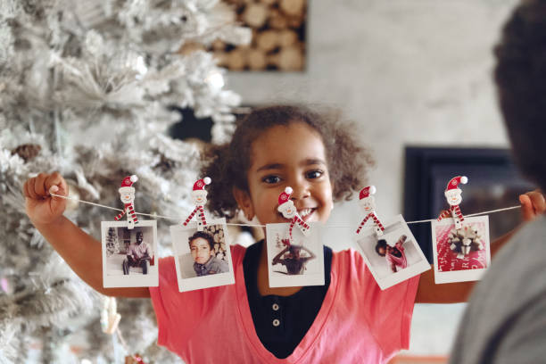 Weihnachtsfeier mit Familie und Freunden – Foto