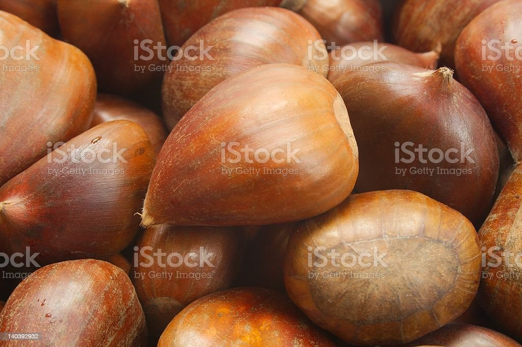 Christmas Chestnuts royalty-free stock photo