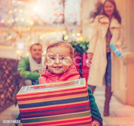 istock Christmas child 520019633