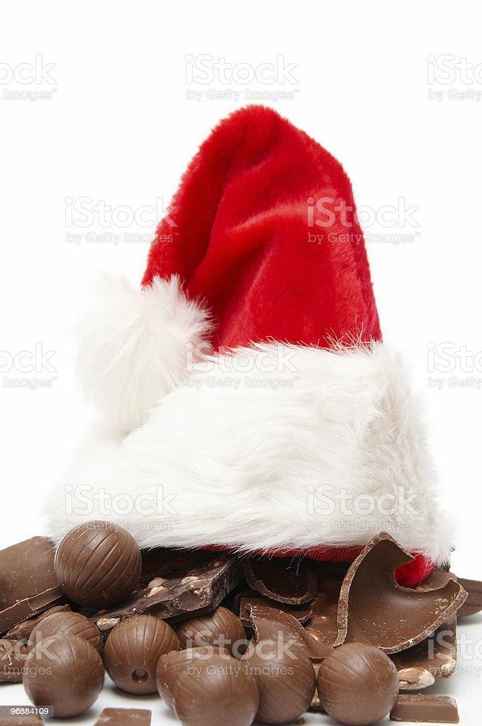 Weihnachten-Schokolade Lizenzfreies stock-foto