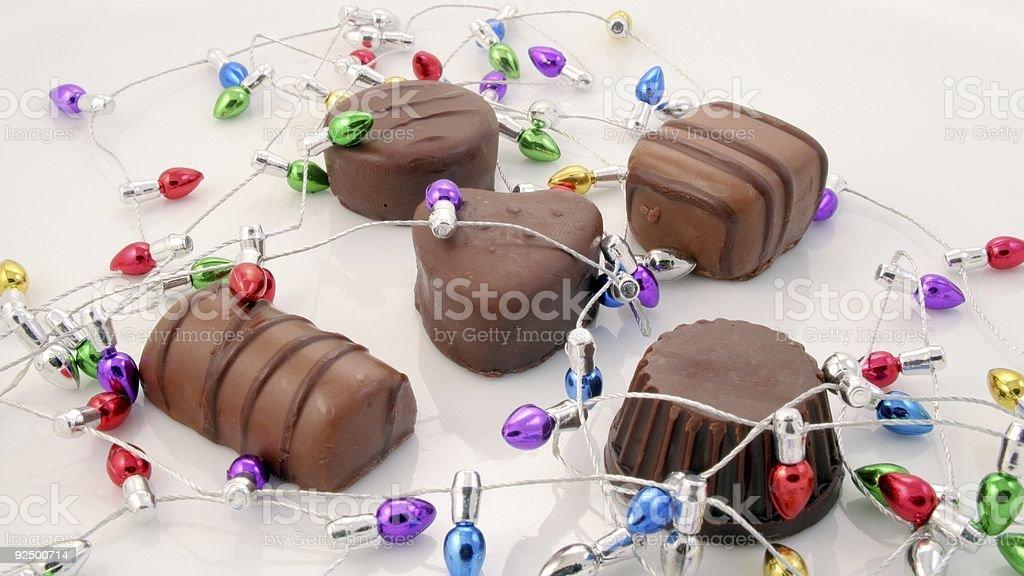 Christmas Chocolates royalty-free stock photo