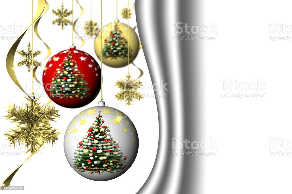 Natale. Decorazione natalizia. stock photo