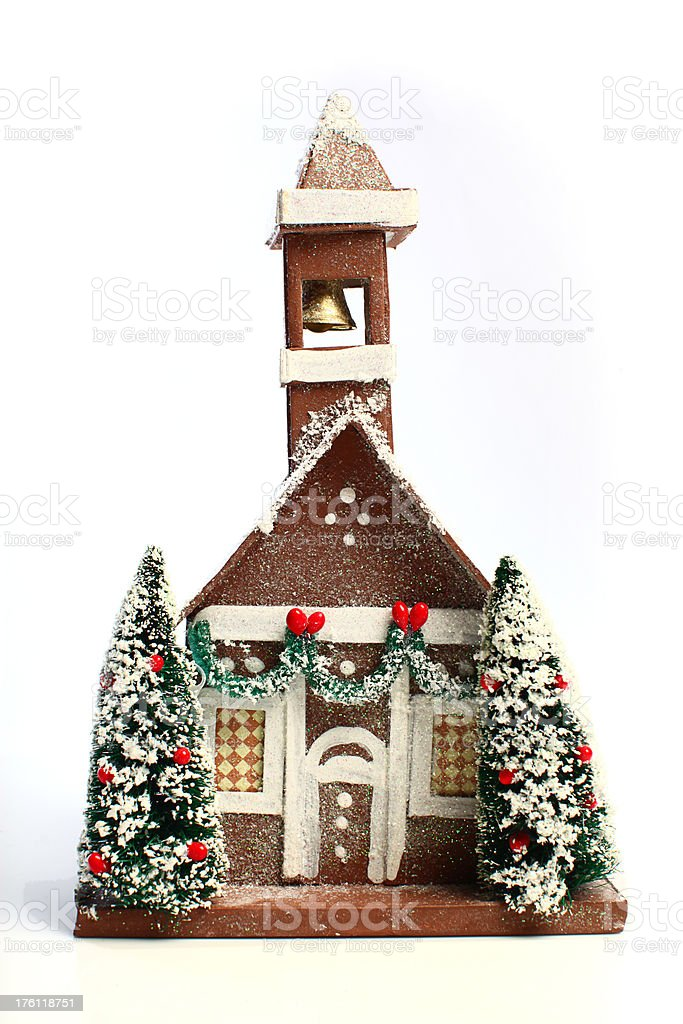 Christmas Church royalty-free stock photo