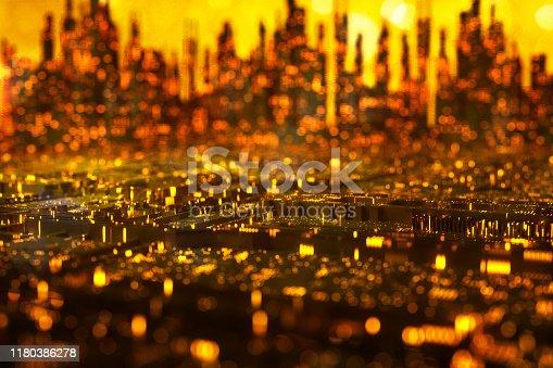 1067810314 istock photo Christmas city background 1180386278