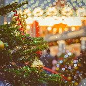 istock Christmas cityscape background 1069146600