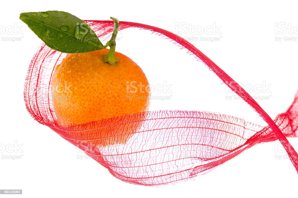 christmas clementines royalty-free stock photo