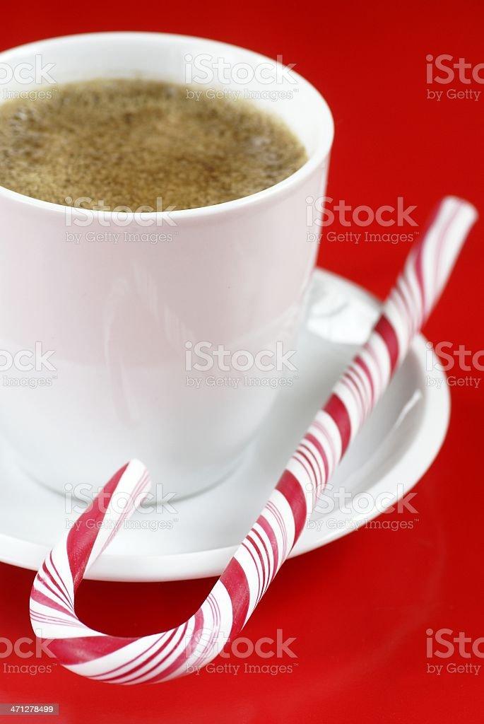 Christmas coffee royalty-free stock photo