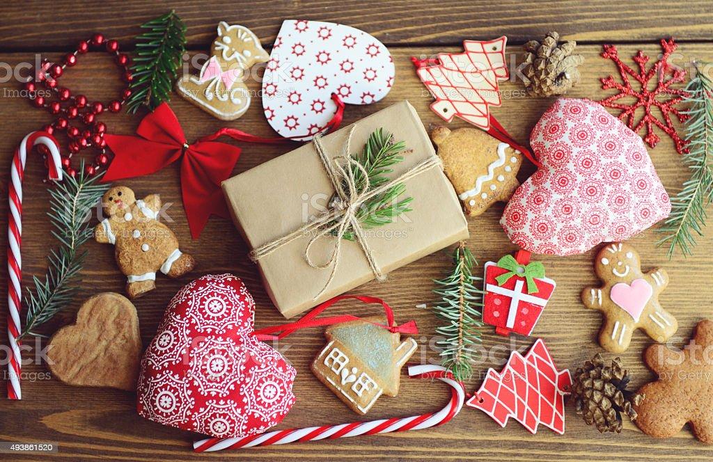 Christmas collection stock photo