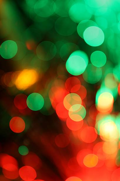 Christmas color light background stock photo