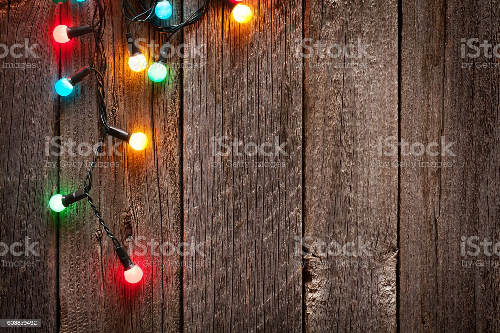 Christmas colorful lights