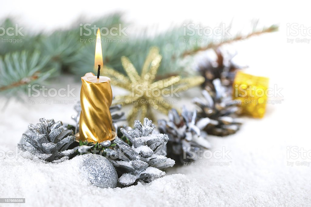 Christmas composition royalty-free stock photo