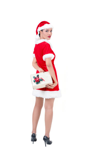 221e6740172 Best Asian Sexy Beauty Woman Santa Claus Stock Photos, Pictures ...
