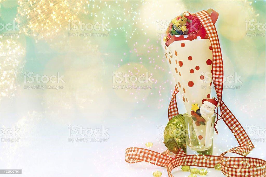 christmas cone royalty-free stock photo