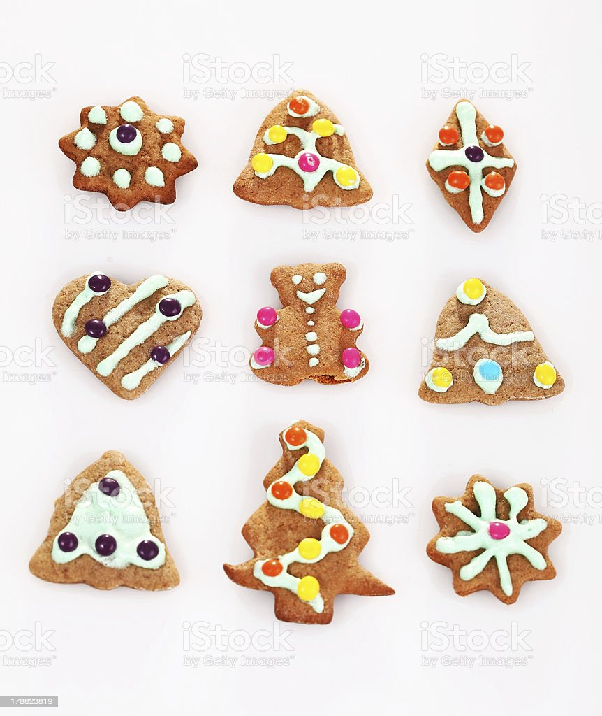 Christmas cookie ginger breads royalty-free stock photo