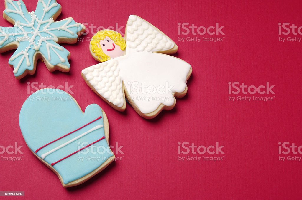 Christmas Cookies Background Stock Photo More Pictures Of Angel