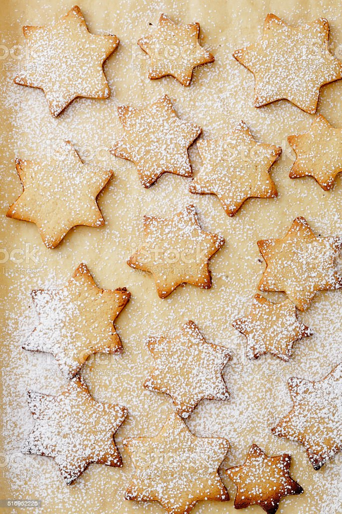 Christmas Cookies Background Stock Photo More Pictures Of
