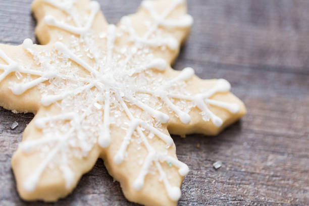 Christmas cookies decorated with royal icing. Christmas cookies decorated with royal icing. sugar cookie stock pictures, royalty-free photos & images