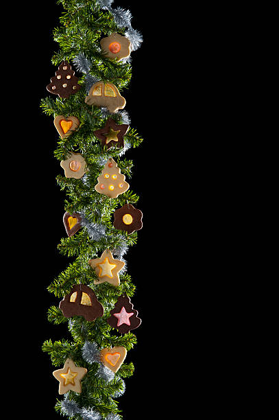 Weihnachtsplätzchen garland – Foto