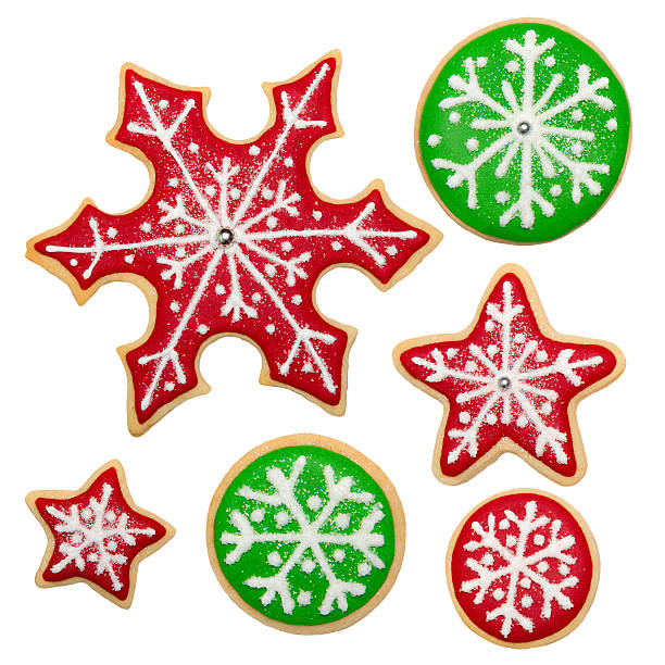 Christmas cookies  sugar cookie stock pictures, royalty-free photos & images
