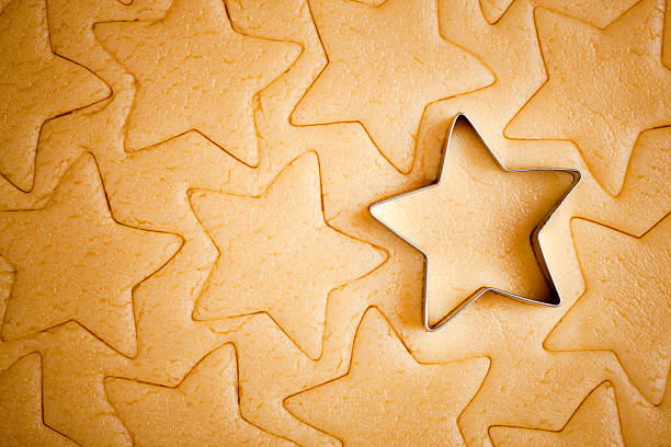 Christmas cookies  cookie cutter stock pictures, royalty-free photos & images