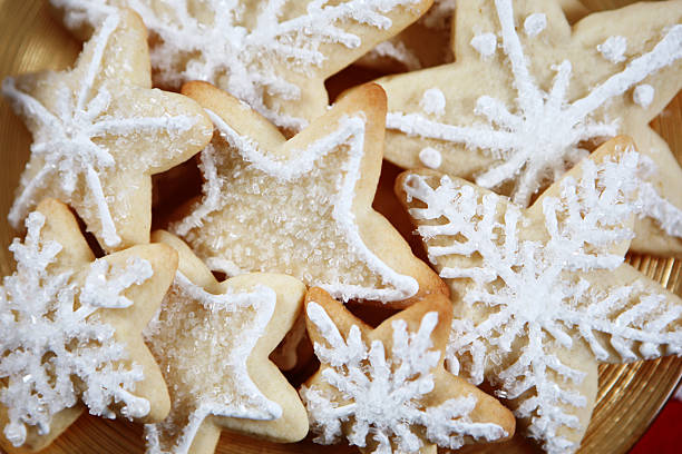 Christmas cookies Christmas cookies sugar cookie stock pictures, royalty-free photos & images