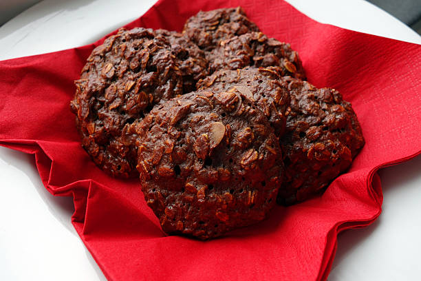 weihnachtsplätzchen - low carb kekse stock-fotos und bilder