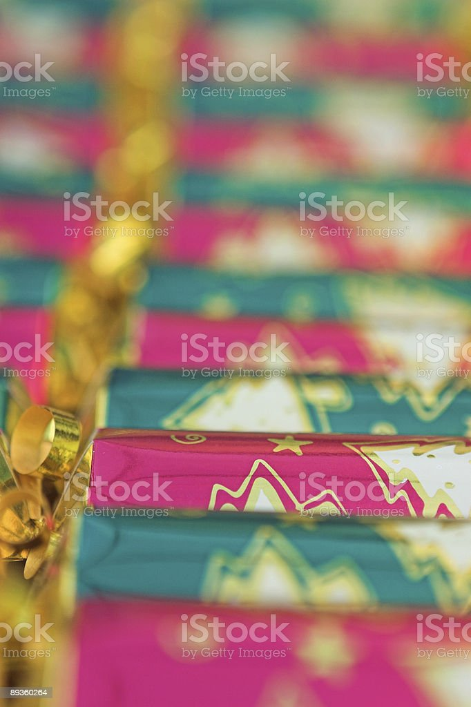 Christmas Cracker foto stock royalty-free