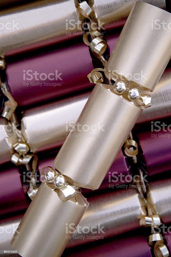 Christmas Cracker Lizenzfreies stock-foto