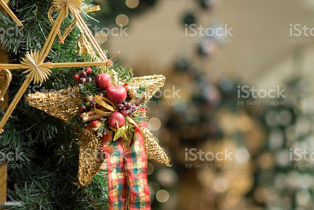 Christmas crafts royalty-free stock photo