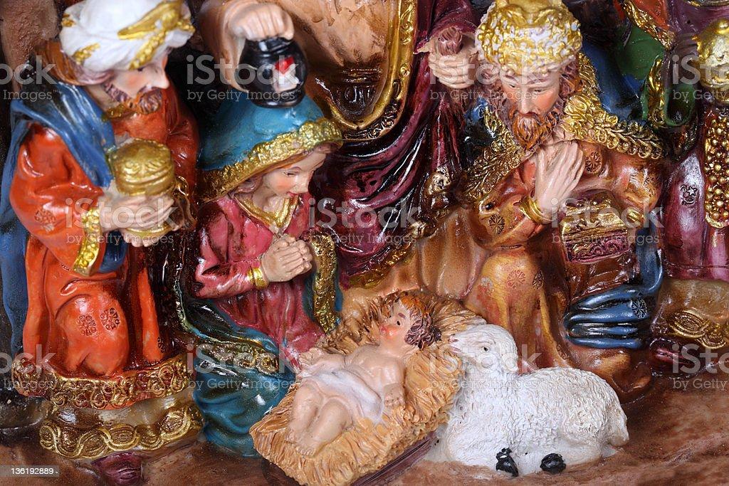 Christmas Crib royalty-free stock photo