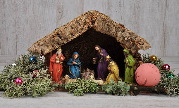 Christmas Crib Stock Photos Pictures Amp Royalty Free Images Istock