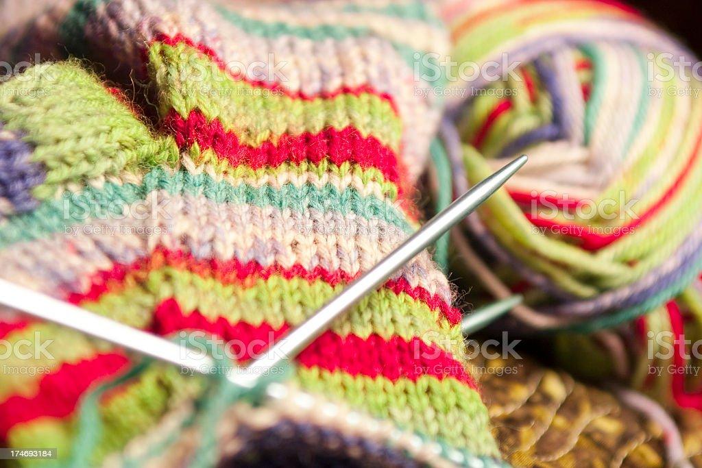 Christmas Crochet royalty-free stock photo