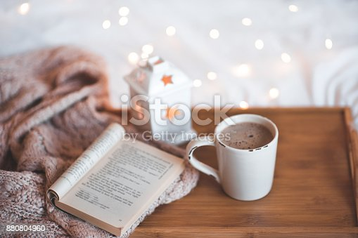 istock Christmas cup of coffee 880804960