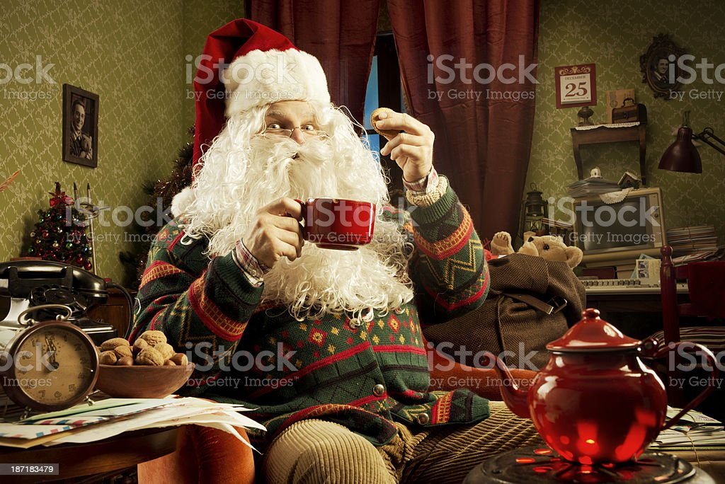 Christmas day royalty-free stock photo