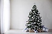 istock Christmas Decor Christmas tree on a white background 868714460