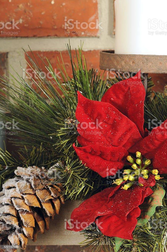 Christmas decor close royalty-free stock photo