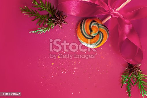 istock Christmas decor - cones, Christmas balls 1189633475