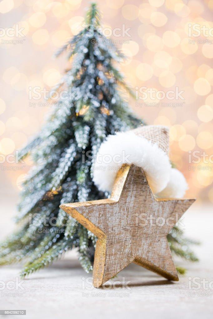 Christmas decor und greeting card. Symbol xmas. royalty-free stock photo