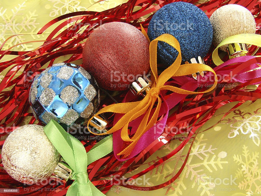 christmas decoration 8 royalty free stockfoto