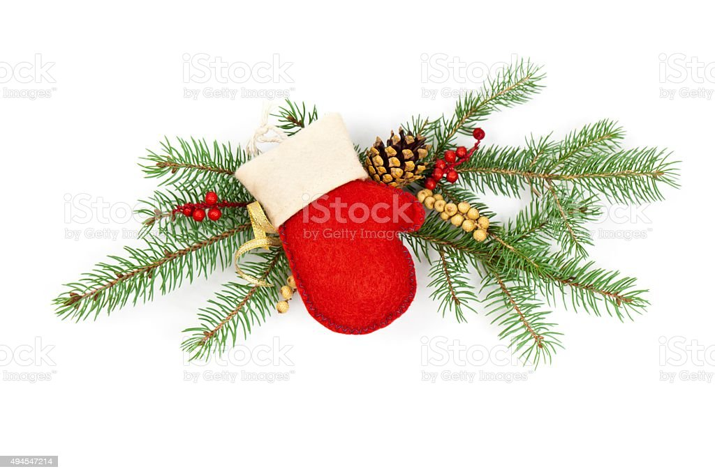 Christmas Decoration and New year theme background stock photo