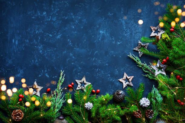 Fundo da decoração do Natal - foto de acervo